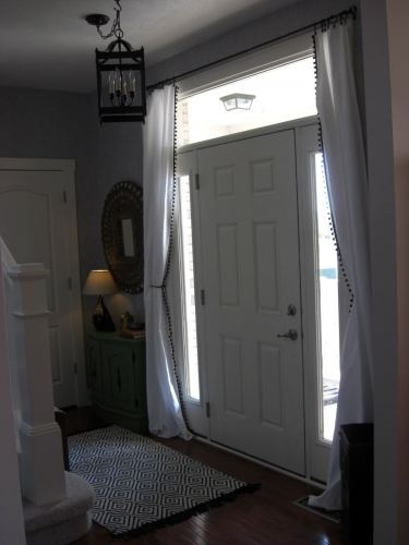 Foyer Door Curtains : Best images about entry on pinterest runners