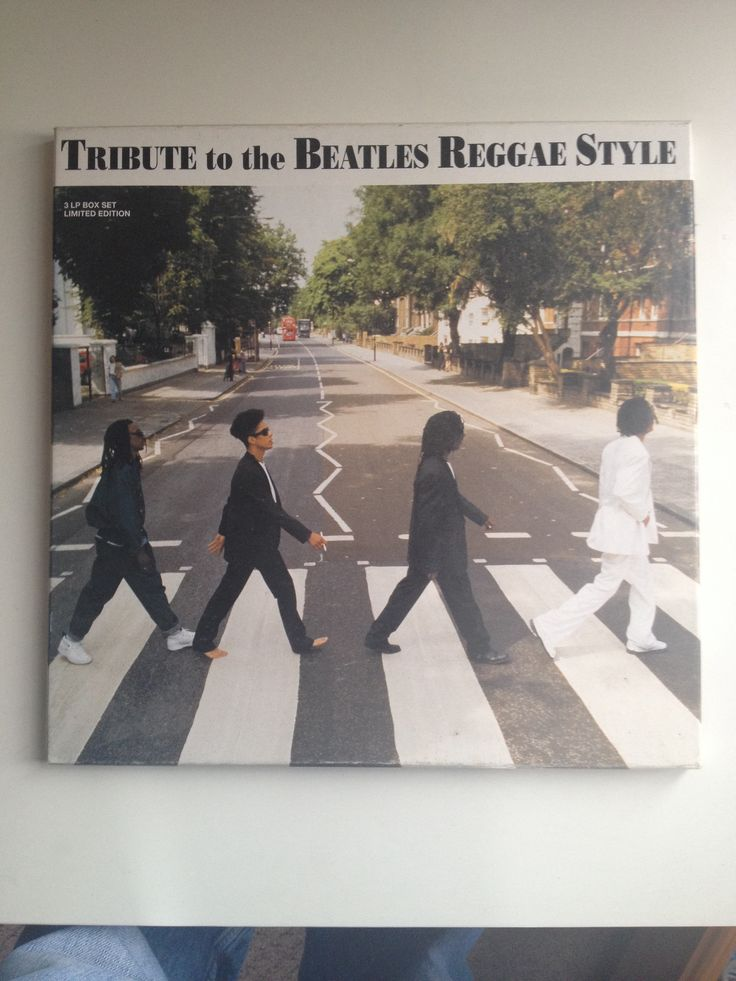 Tribute to The Beatles Reggae Style. Abbey Road must be maybe the most parodied album cover of all time.