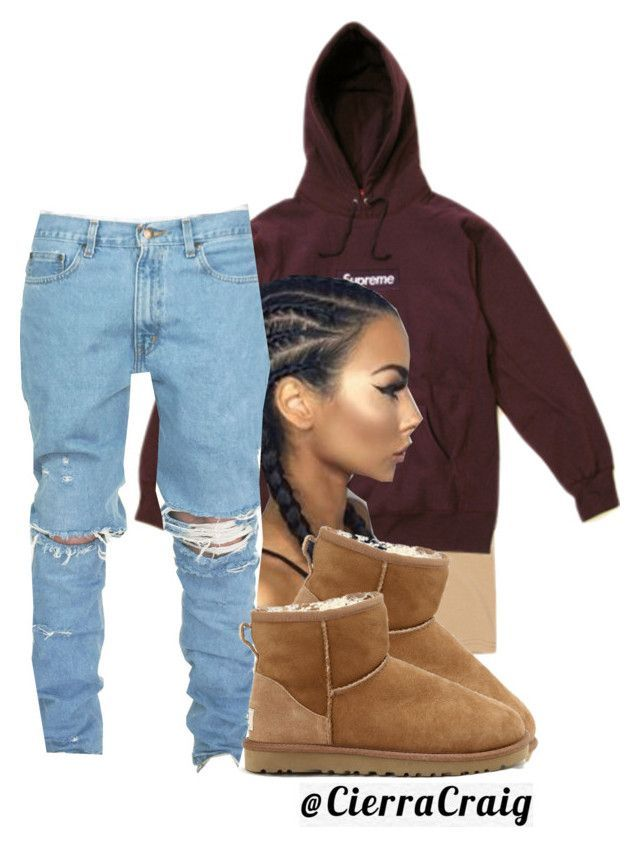 """""""Edgy"""" by cierracraig ❤ liked on Polyvore featuring Hyein Seo and UGG Australia"""