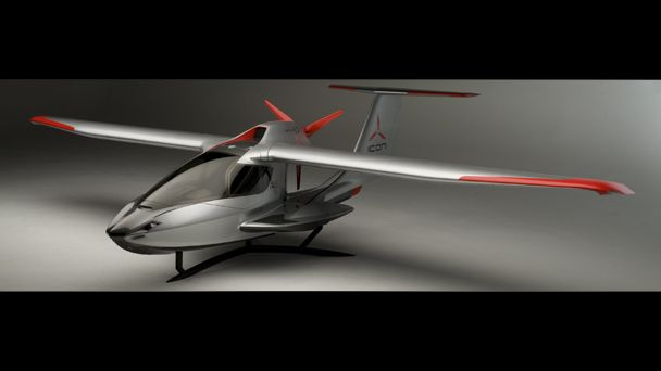 "Icon plane.  Pretty cool.  ""only"" $139k"