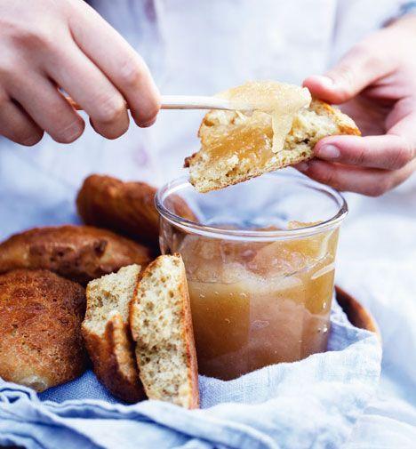 Opskrift på Æble-ingefær-marmelade fra - Hendes Verden