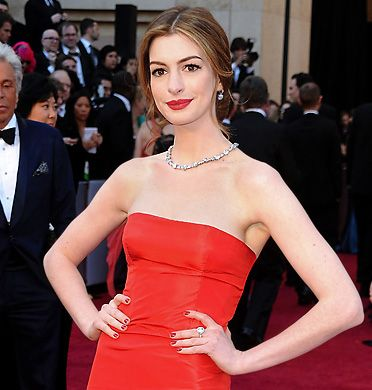 Anne Hathaway at the 83rd Academy Awards®