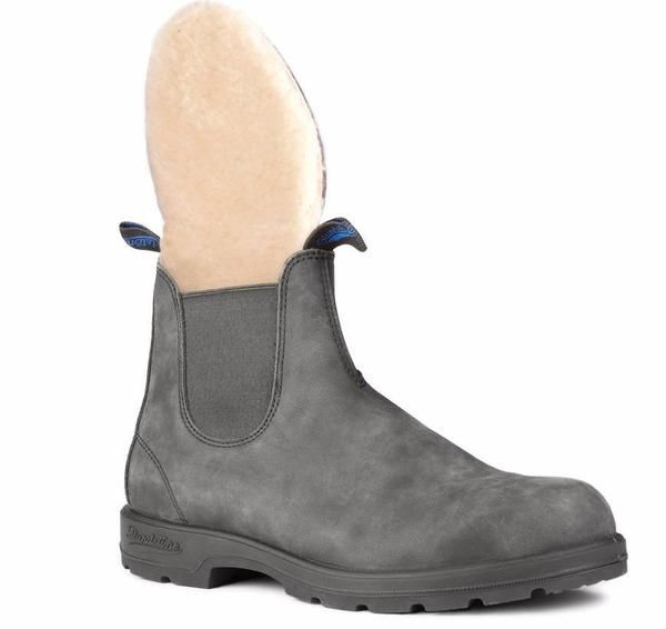 Blundstone 1478 Winter Rustic Black Boots Blundstone Boots Black Boots