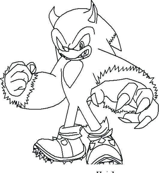 Dibujos De Sonic Para Colorear Sonic Para Colorear Dibujos