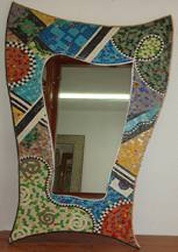 Lovely - Mosaic mirror from tunis