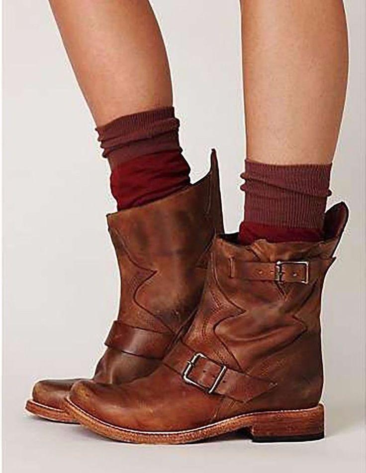 Freebird by Steven Gatwick Womens Brown Boots Sz 6 #FreebirdbySteven #KneeHighBoots #Casual