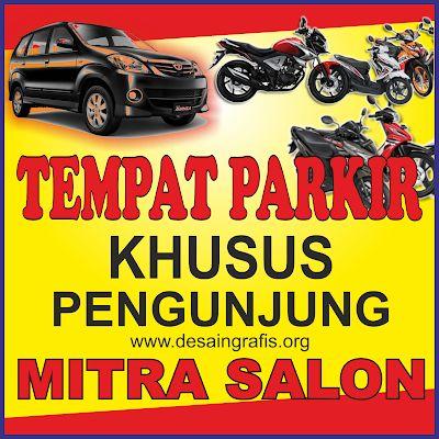 Desain Banner Parkir cdr   Desain banner, Desain, Desain ...
