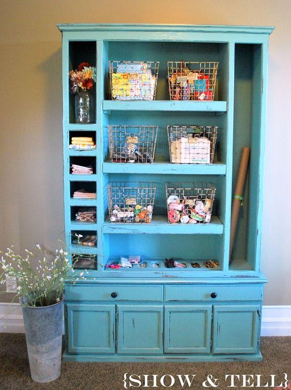 HutchCrafts Cabinets, Gun Cases, Gun Cabinets, Guns Cabinets, Crafts Room, Room Ideas, Crafts Storage, Craft Storage, Craft Rooms