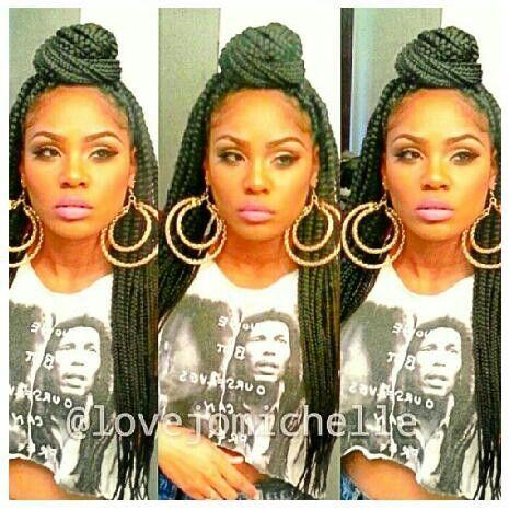 Magnificent 1000 Images About Braids On Pinterest Box Braids Long Box Hairstyles For Women Draintrainus