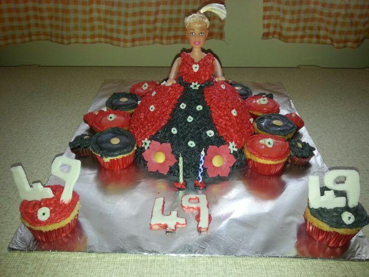 49er doll cake
