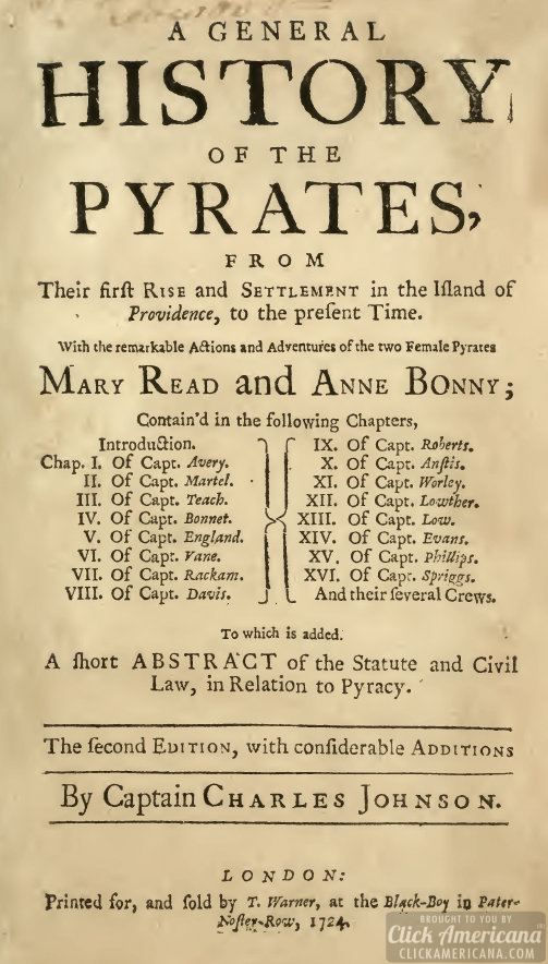 The Pirate Code: Rules for Black Bart's ship (1724)   Boat ...