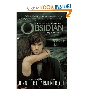 Obsidian (Lux Novel) + sequels. Fabulous series!
