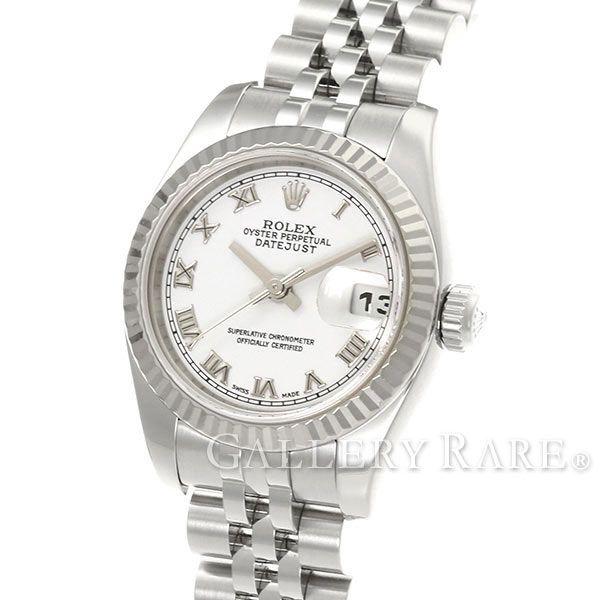 ロレックス デイトジャスト K18WGホワイトゴールド D番 179174 ROLEX 腕時計 レディース