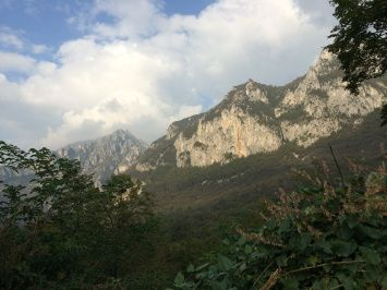 Hiking at Piani d'Erna, near Lecco, about 20 minutes and a funicular ride up from #poggioverdevilla #northernitaly