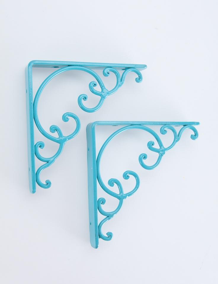 Shelf brackets by INDISKA