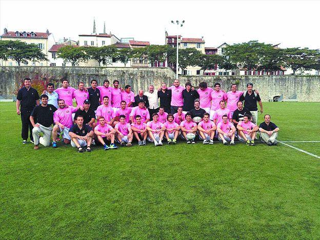El seleccionado de la URC venció 24 a 19 al Bayonne de Francia