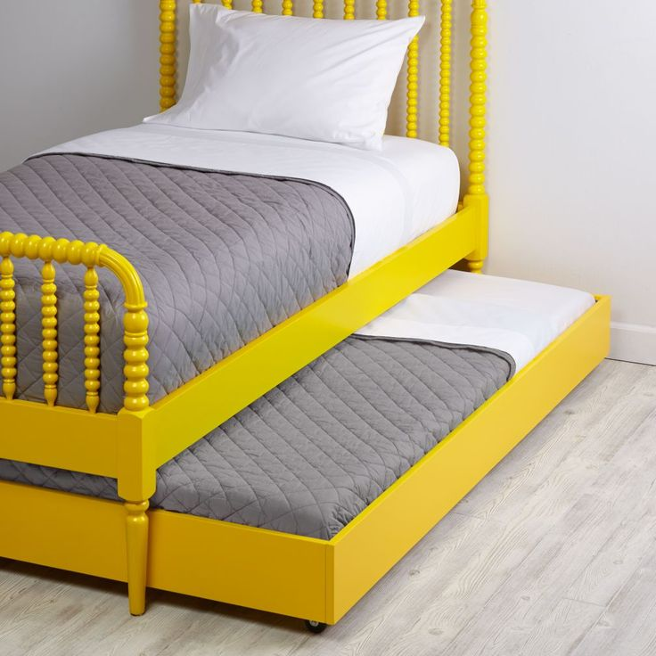 Jenny Lind Trundle Bed (Yellow) | The Land of Nod