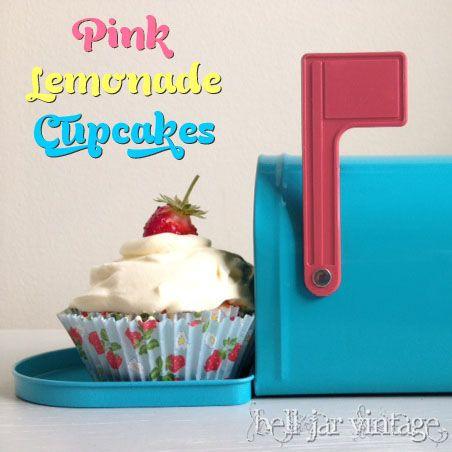 Pink Lemonade Cupcakes | Everything Lemon | Pinterest