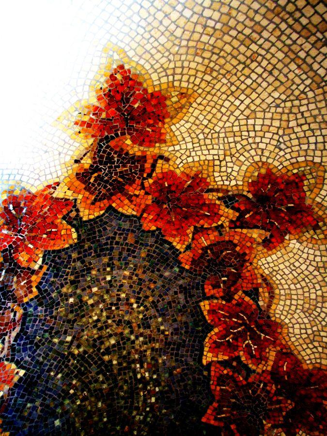 mozaika z mozaiki, artystyczne kamienne obrazy - bayzmozaya