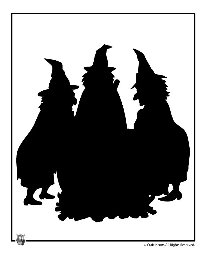 Printable Halloween Templates Witches Cauldron Halloween Template – Craft Jr.