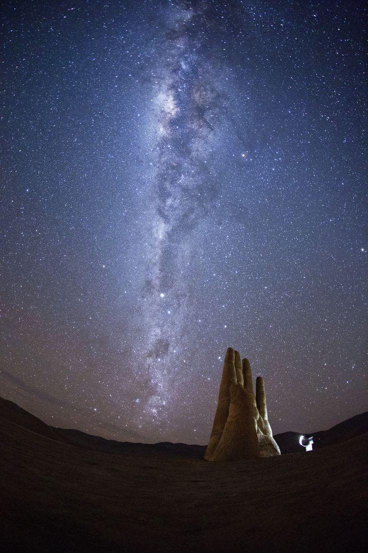 Mano del Desierto. Antofagasta, Chile.