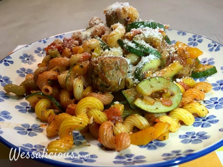 Nieuwe recept: Kruidige pasta met courgette