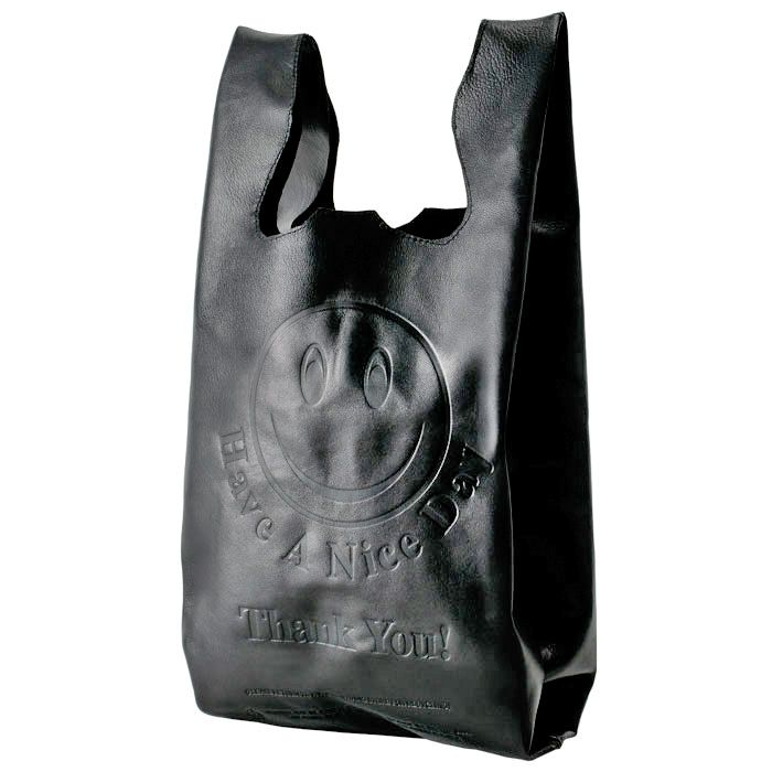 Reuseable Leather Grocery BagPlastic Bags, Leather Shops, Grocery Bags, Shops Bags, Leather Totes, Bags Design, Products, Corner Stores, Leather Bags