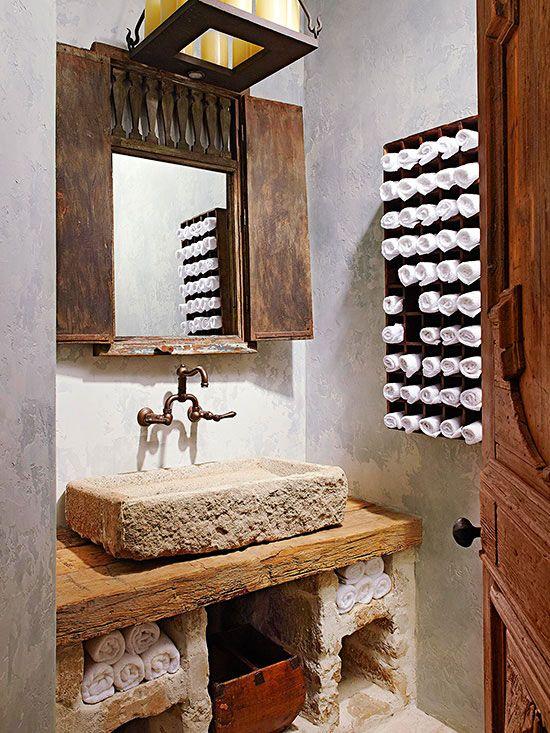 Best Powder Room Vessel Sinks Images On Pinterest Bathroom - Vessel sink bathroom ideas