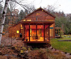 Casa de madera en EE.UU.