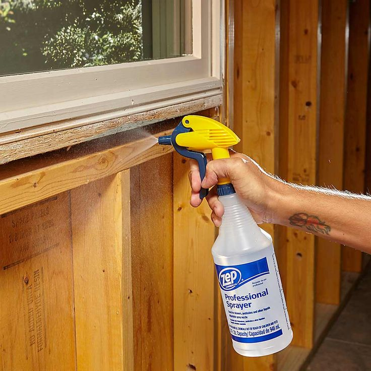 Dampen for Fast Curing - Expanding polyurethane foam requires moisture to expand and cure. If you're applying foam to dry wood or other dry surfaces, or working on a day with little humidity, misting the area first will help the foam expand and cure faster. Be careful, though