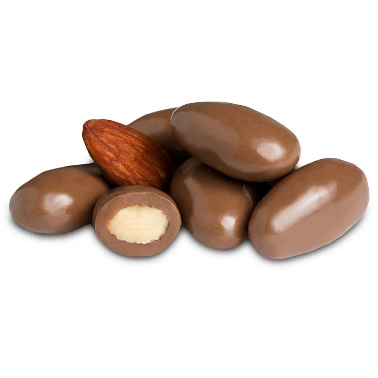 Almond and chocolate