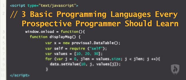 Computer programmers are the builders of the digital world. But with so many different programming languages, how do you know where to start learning and what to learn? We've discussed this hot topic with a few experts in the field and they shared their thoughts on where you should begin.