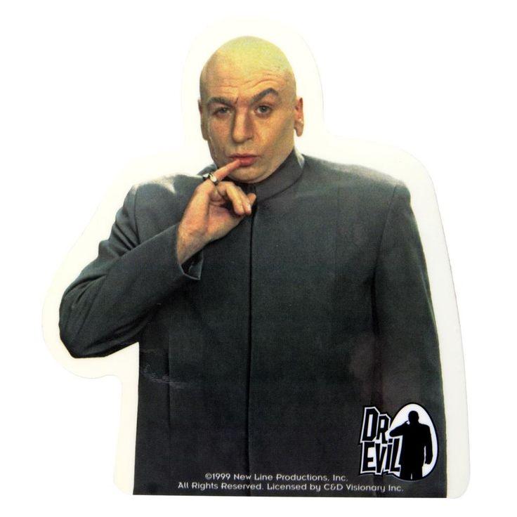 Austin Powers - Dr Evil Decal