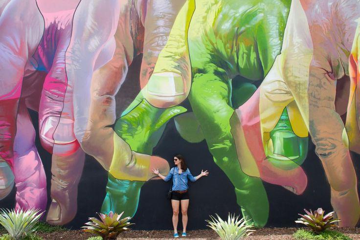 Street Art in Wynwood district of Miami Florida