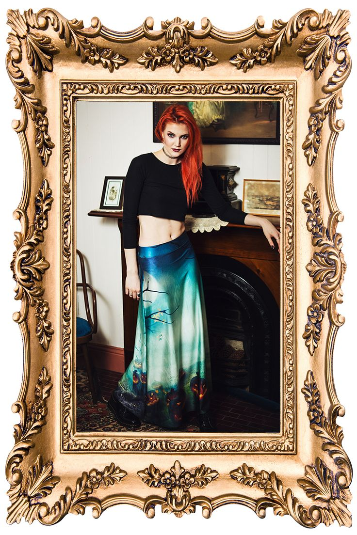 All Hallows Eve Maxi Skirt - $90.00 AUD
