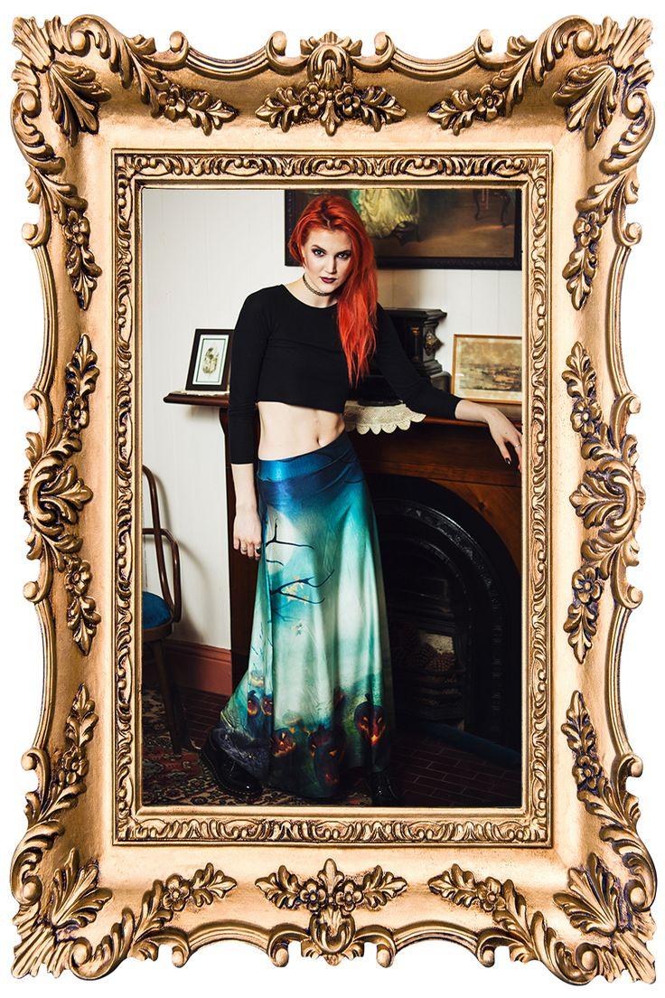 All Hallows Eve Maxi Skirt - $90.00 AUD