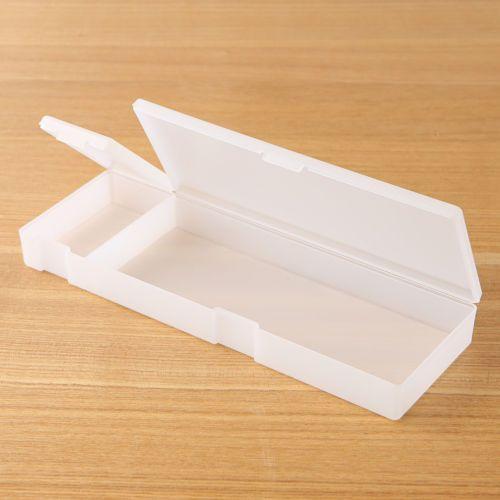 Muji-Polypropylene-White-Multipurpose-Pen-Pencil-Case-extra-large-madein-japan