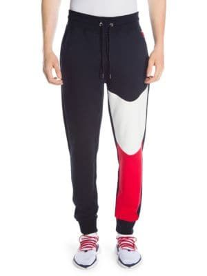 3fd3fa335848 MONCLER Colorblock Joggers.  moncler  cloth