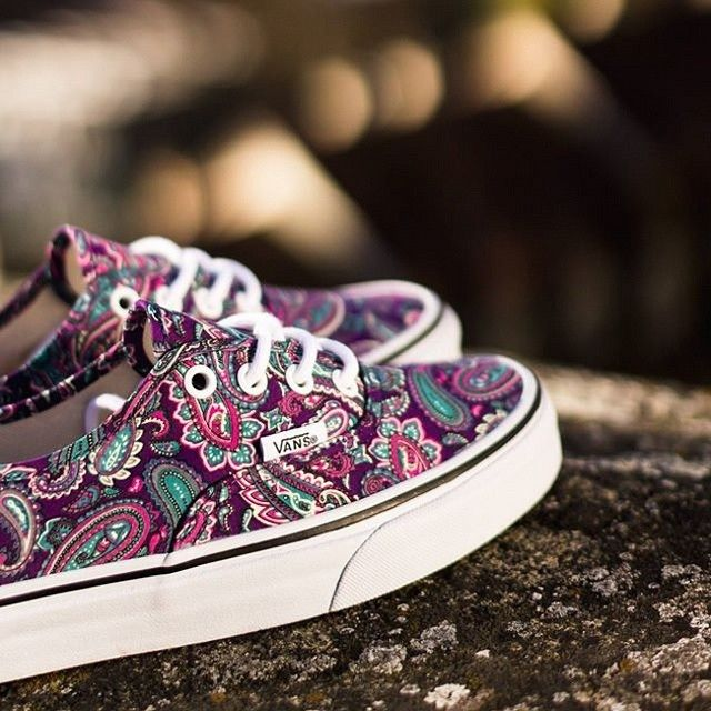 Vans Authentic Multicolor Paisley #vans #vansauthentic