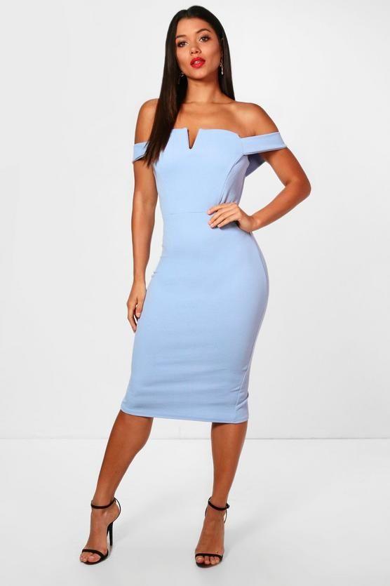 c590caa8720d Bardot Midi Bodycon Dress in 2019 | Blowtrees | Dresses, Bodycon ...