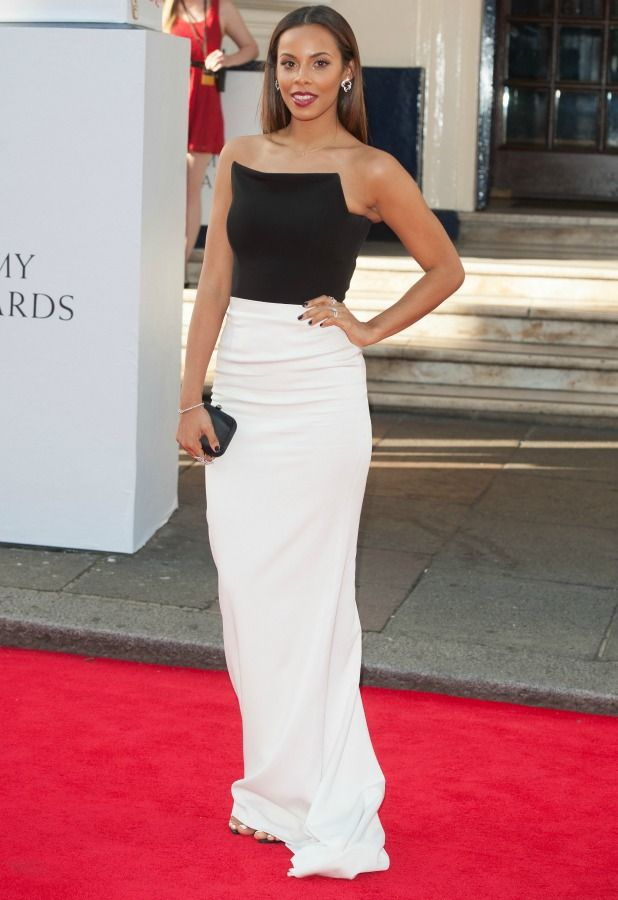 Rochelle Humes at the BAFTAS 2014 #RochelleHumes #TheSaturdays #BAFTAS #2014
