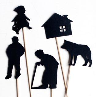 Shadow Puppets http://ukkonooa.blogspot.fr/2015/01/itse-tehty-varjoteatteri-diy-shadow.html