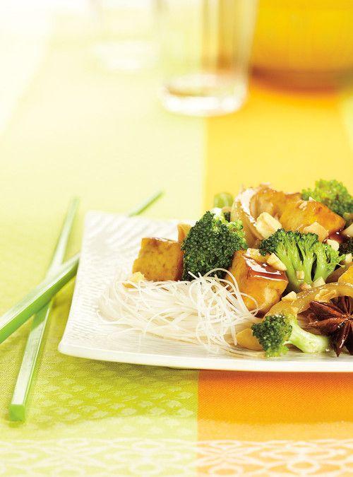 Tofu sauté au brocoli