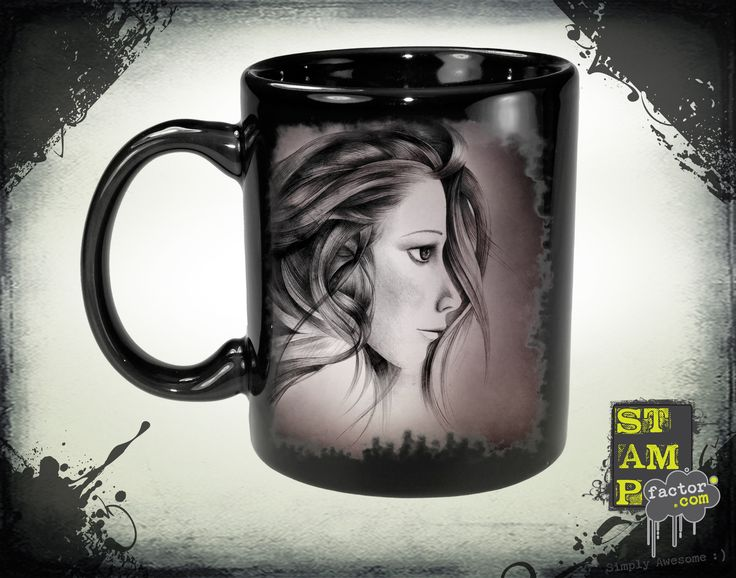 Katy (Red Foggy Dream) 2015 Collection - © stampfactor.com *MUG PREVIEW*