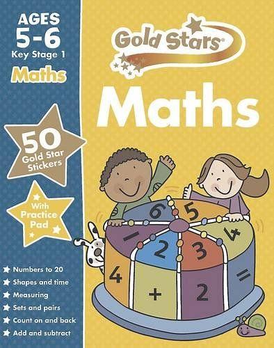 Gold Stars Maths kS1 5-6 (Gold Stars Ks1 Workbooks)