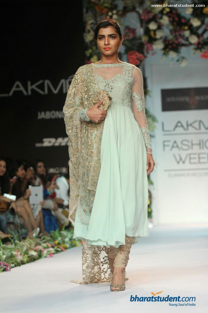 Shyamal & Bhumika Show at Lakme Fashion Week Summer/Resort 2014
