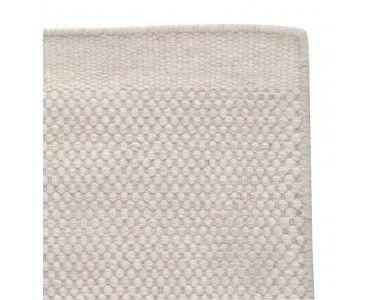 "LIVING – Carpet ""Kolong"" (cream, structured woven; weft: wool, warp …  #Schusse # Wefts"