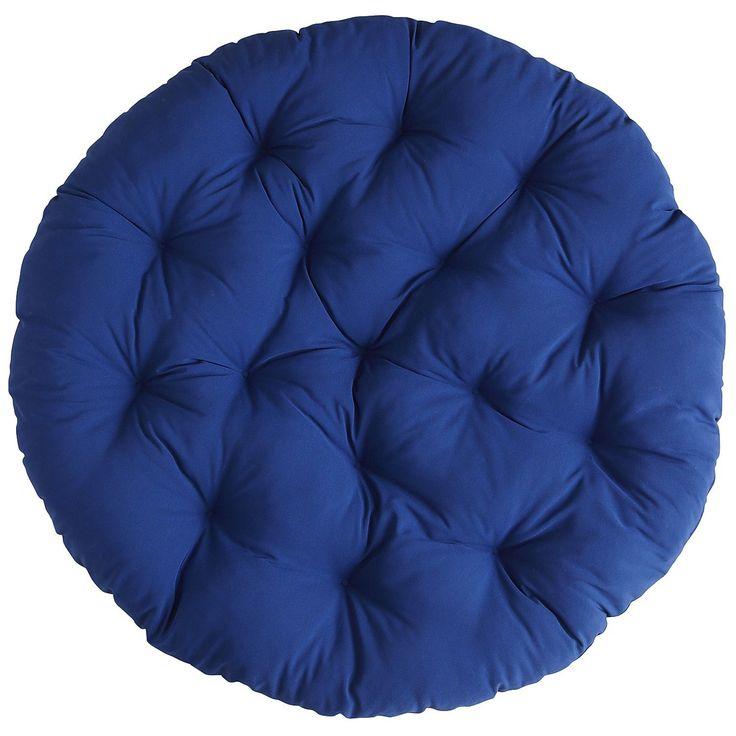 Cabana papasan cushion cobalt cadeira suspensa