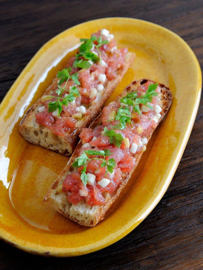 ふわっと香る柚子こしょうがまぐろの旨みを引きだす|『ELLE a table』はおしゃれで簡単なレシピが満載!