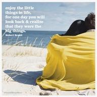 enjoy the little moments